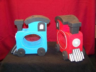 Kids - Train piggy banks ...